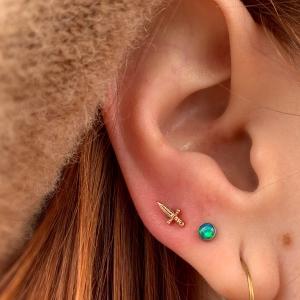 Naomi-Dagger-Gold-Rose-Third-3rd-High-Lobe-Ear-Neometal-opalite-Naomi-Piercer-Obelisk-Body-Piercing-Fine-Jewelry-Renton-Washington